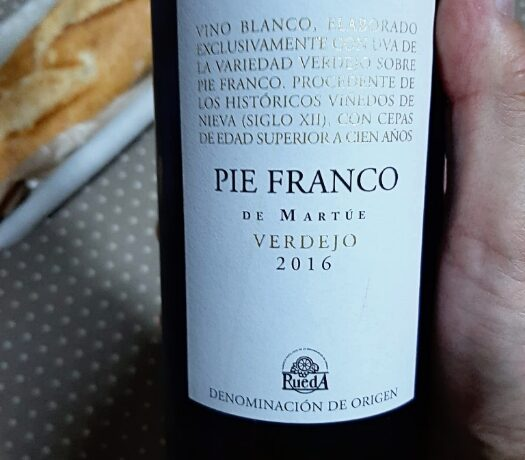 BLANCO NIEVA PIE FRANCO 2016.