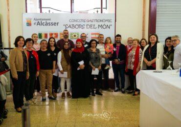 V EDICIÓ DEL CONCURS SABORS DEL MÓN A ALCÀSSER.