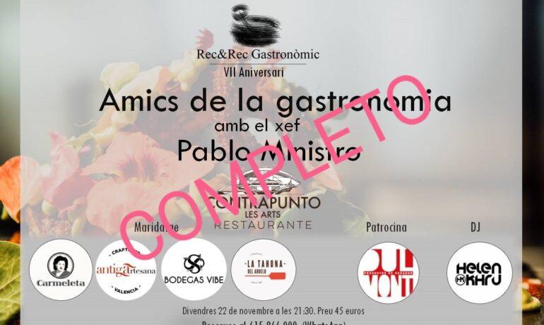 VII ANIVERSARIO REC&REC. AMIGOS DE LA GASTRONOMÍA 2019.