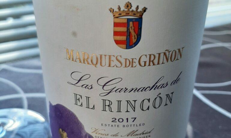 LAS GARNACHAS DE EL RINCÓN 2017.