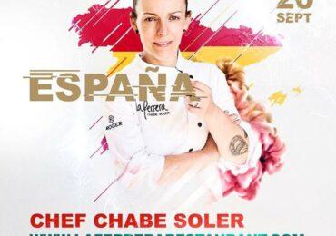 La cocinera Chabe Soler del restaurante La Ferrera gana el World Paella Day Cup