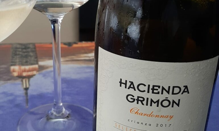 HACIENDA GRIMÓN CHARDONNAY 2017. LOS VINOS DE OTILIO.