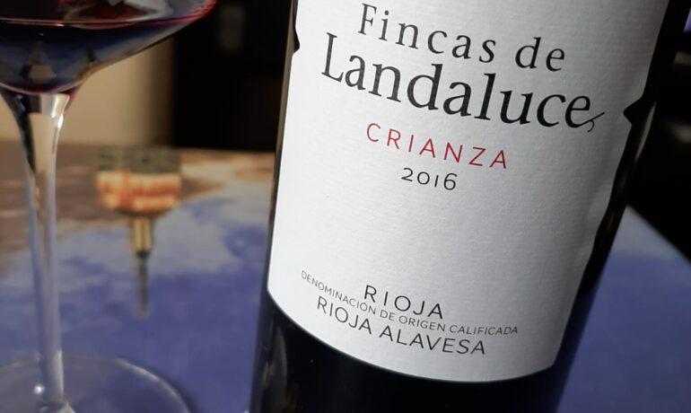 FINCAS DE LANDALUCE CRIANZA 2016. LOS VINOS DE OTILIO.