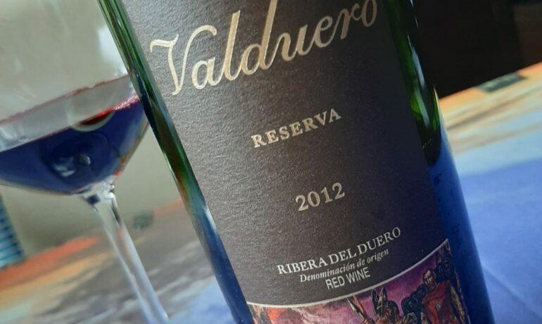 VALDUERO RESERVA 2012. LOS VINOS DE OTILIO.