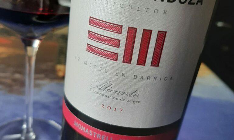 ENRIQUE MENDOZA 2017. LOS VINOS DE OTILIO.